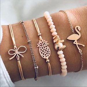 Jewelry - FLAMINGO ♡ Bracelet SET